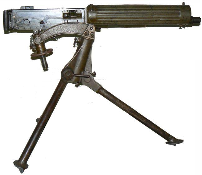 Пулемет vickers 303 mk i с поздним вариантом